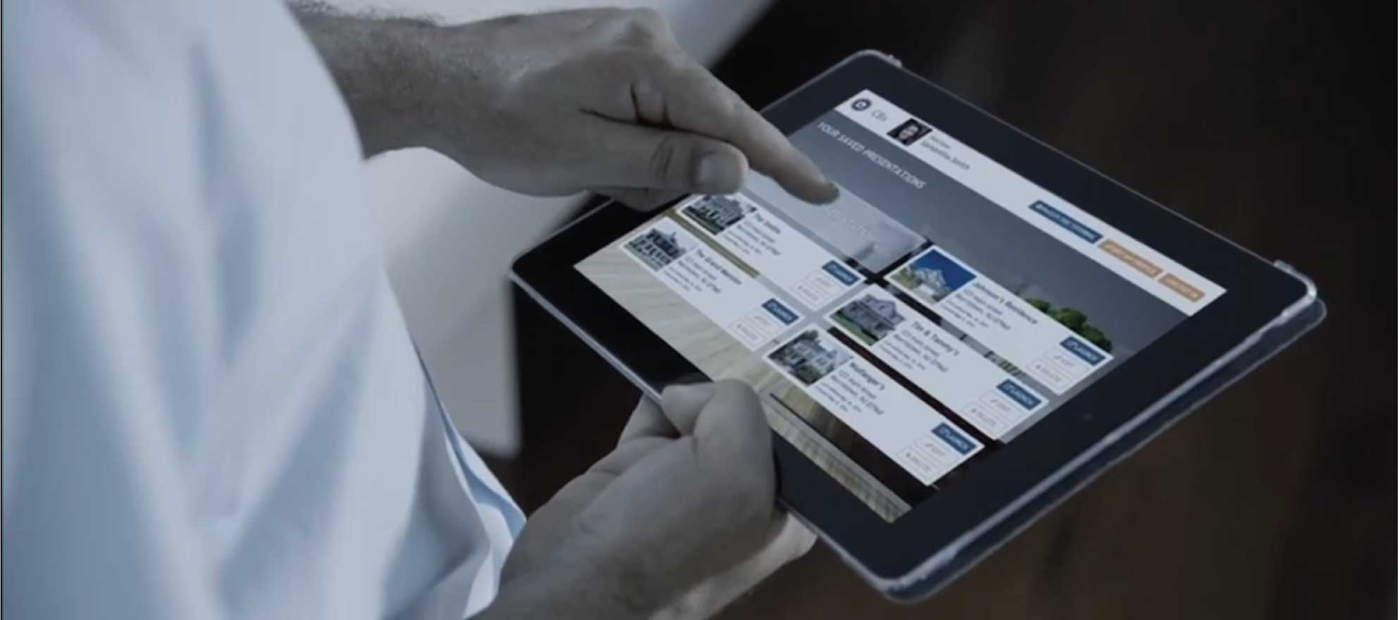 Franchisor's iPad app designed to help win listings with big data