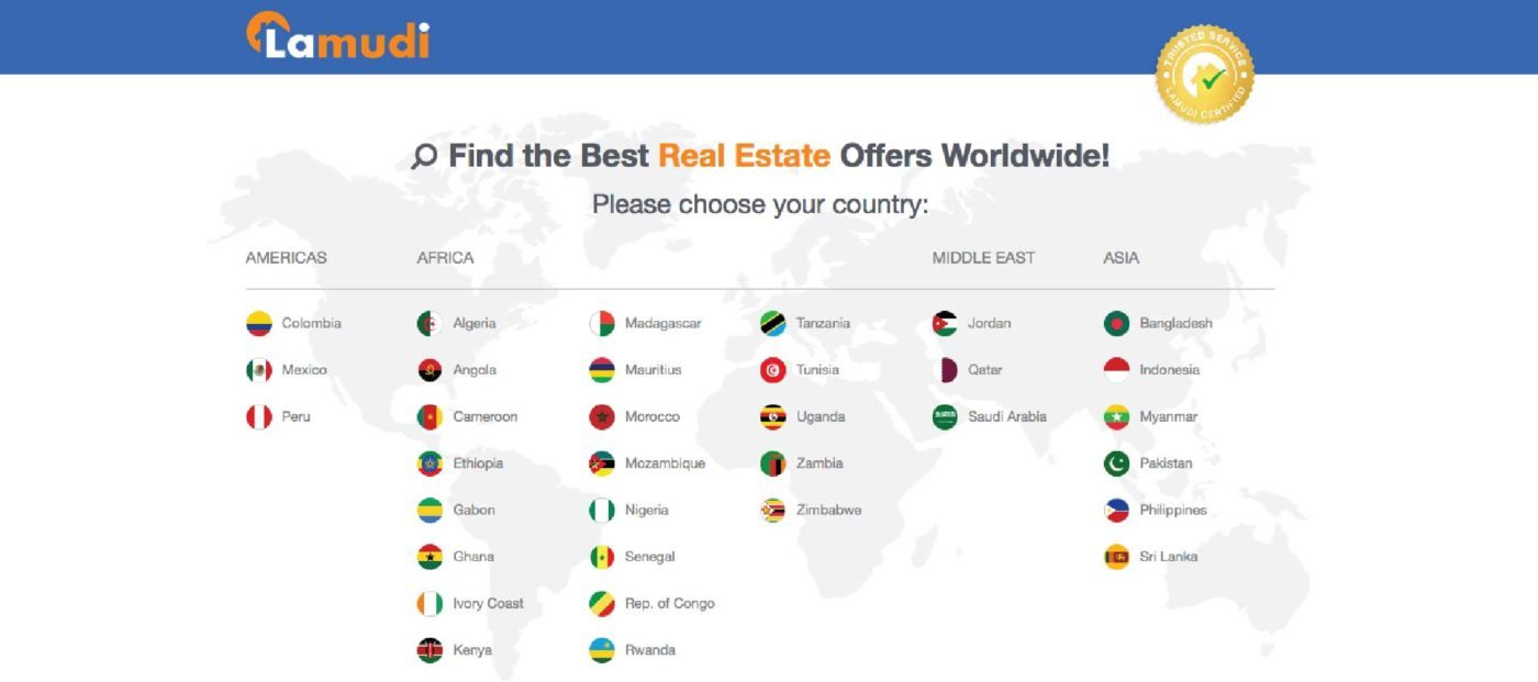 International real estate portal Lamudi raises $19 million