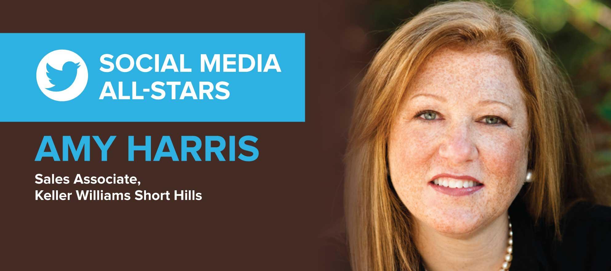 Amy Harris: 'Social media gives my brand a big reach'