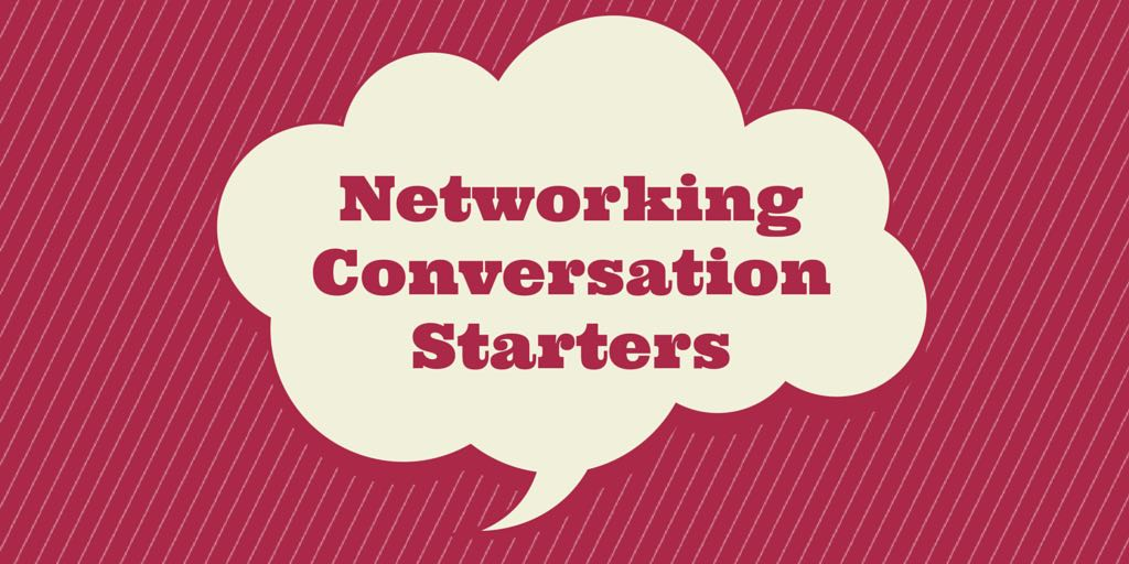 TWITTER- Networking Convo Starters
