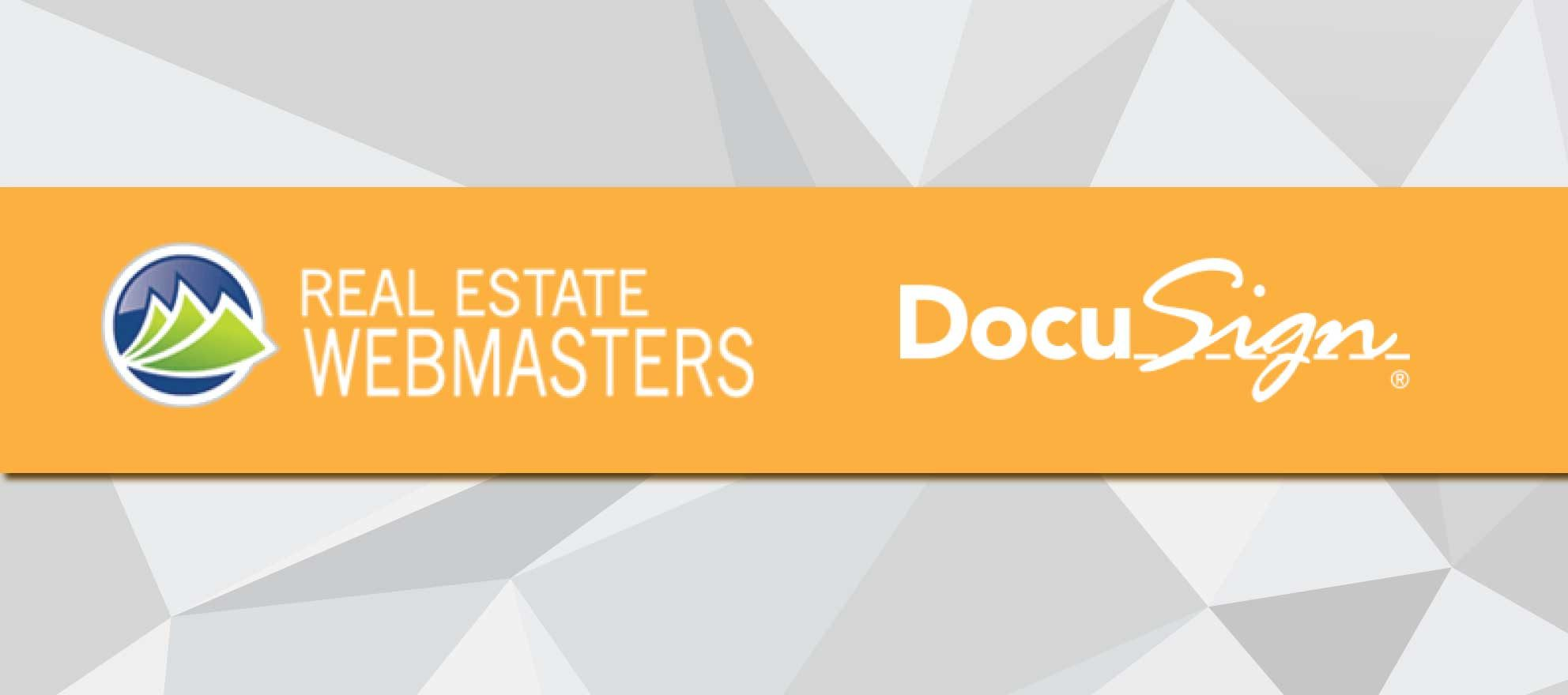 DocuSign provides deep integration with real estate website vendor