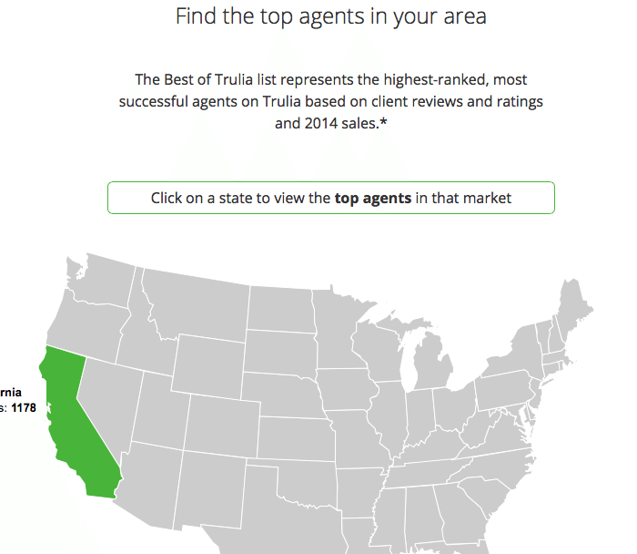 trulia agent rankings