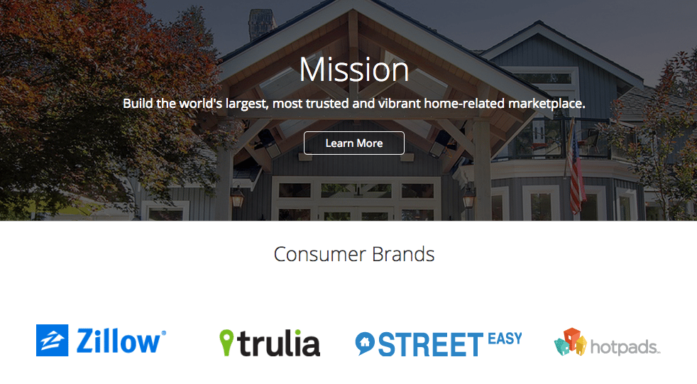 Zillow Group Now Including Trulia