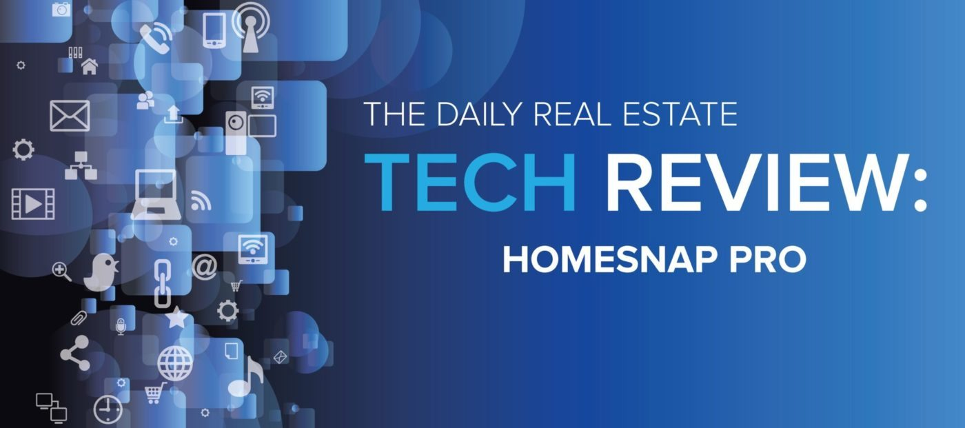Homesnap Pro puts people first in a new approach to leveraging MLS data
