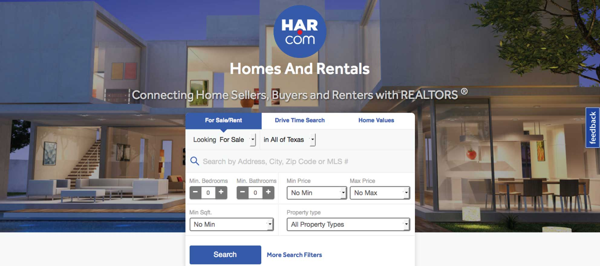 New HAR.com goes live with listings from all over Texas