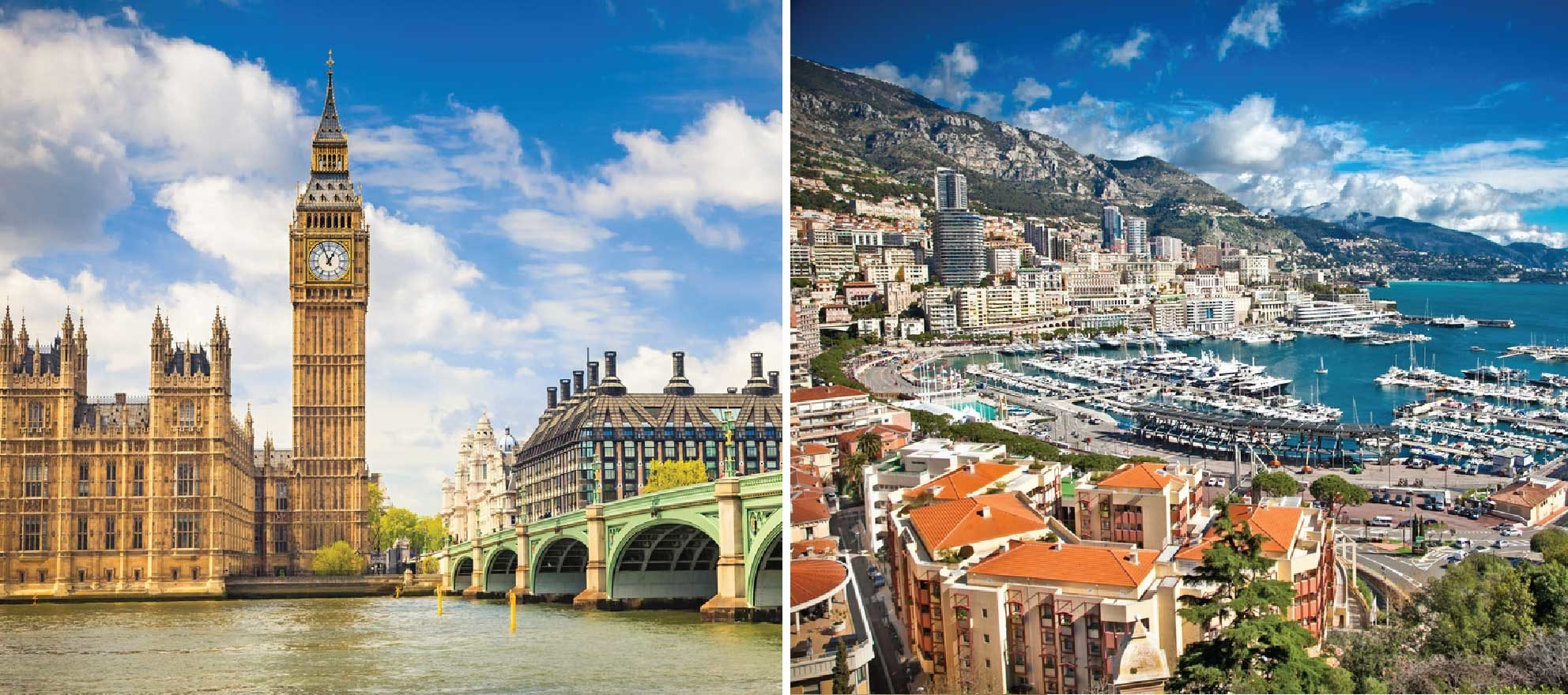 Real estate in London and Monaco is affecting Britain's market