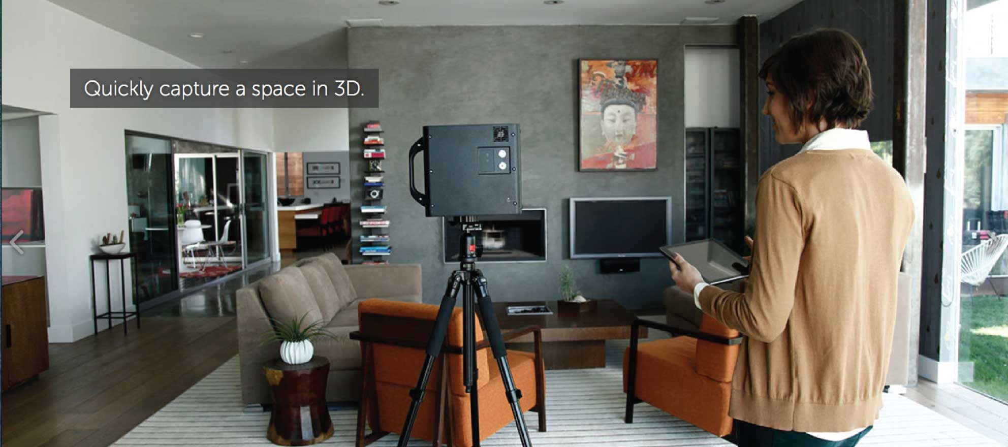 3-D virtual tours of multifloor homes just got a whole lot easier
