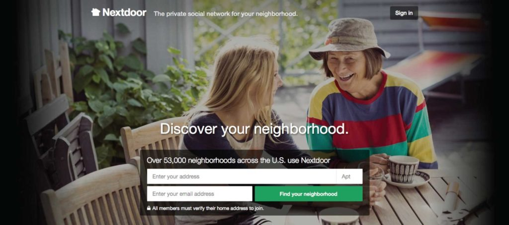 Latest funding round values Nextdoor at $1.1 billion