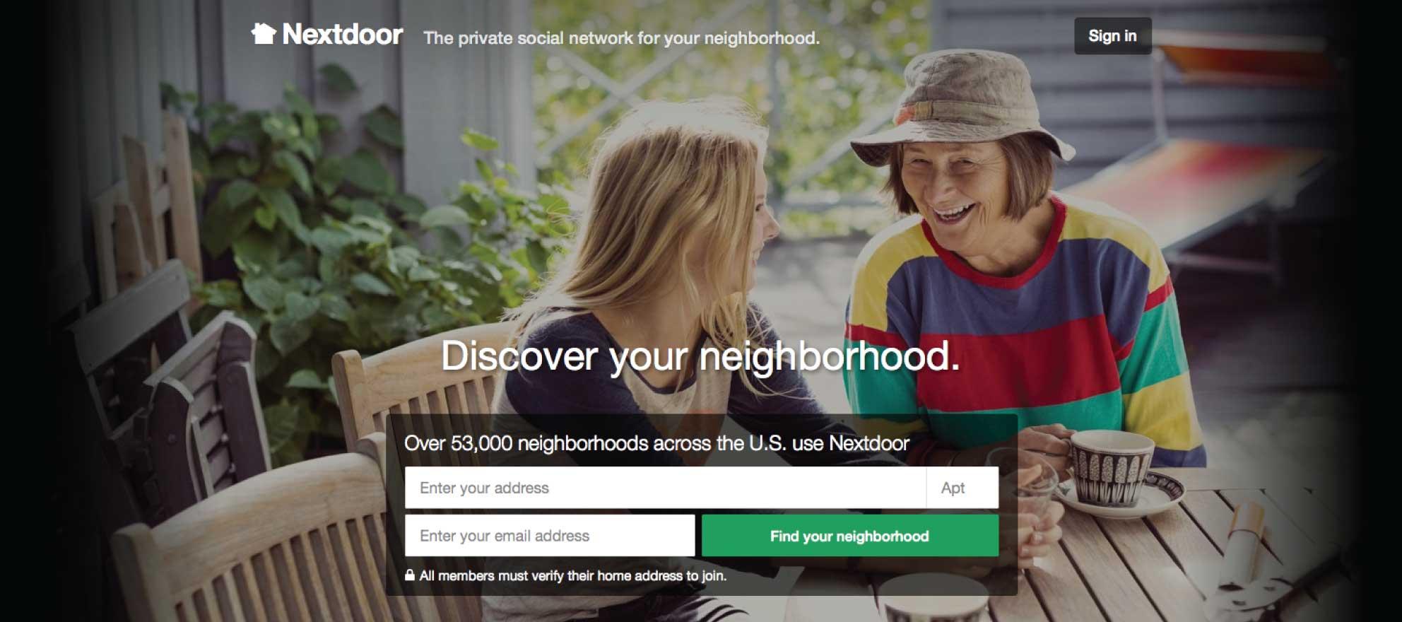 Latest funding round values Nextdoor at $1.1 billion