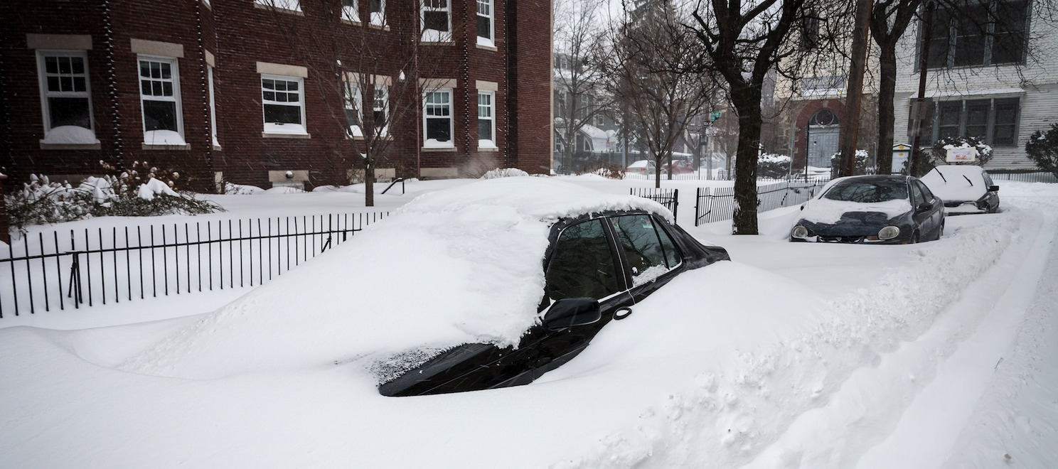 Record snow and the real estate market in Boston