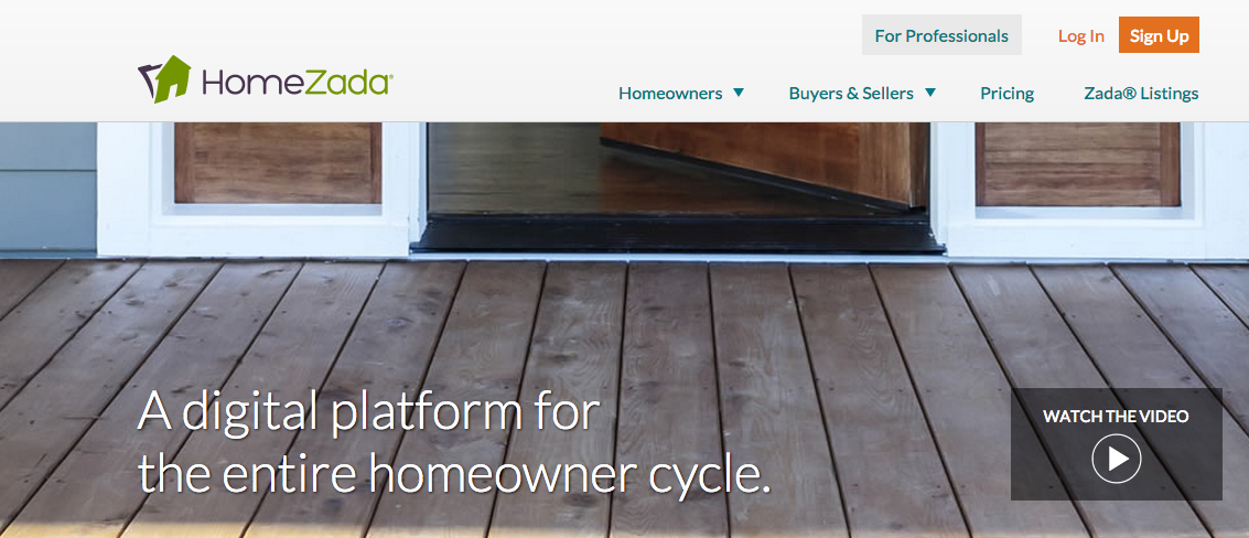 HomeZada demo: Grow your business through entire homeowner lifecycle