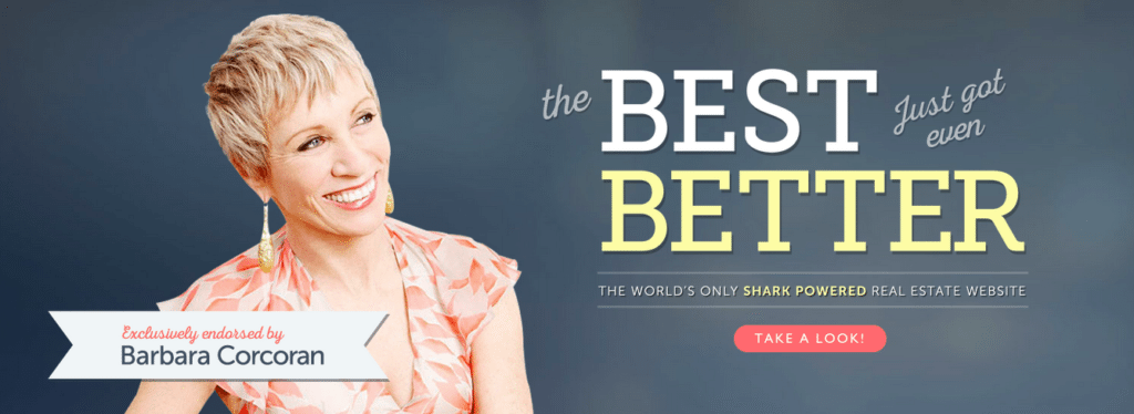 Take a test drive of the only real estate website endorsed by Barbara Corcoran