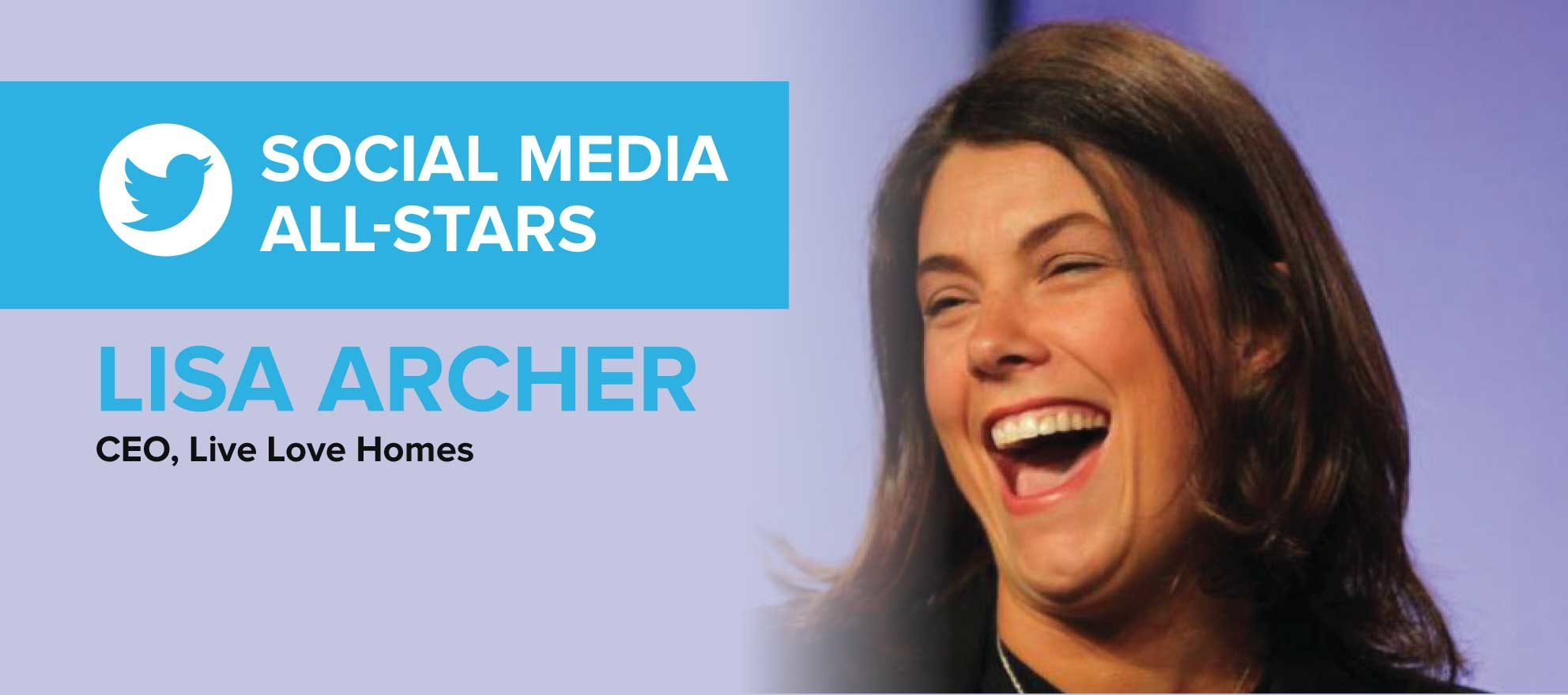 Lisa Archer: 'Social media is about being social. Do that, and the business will come'