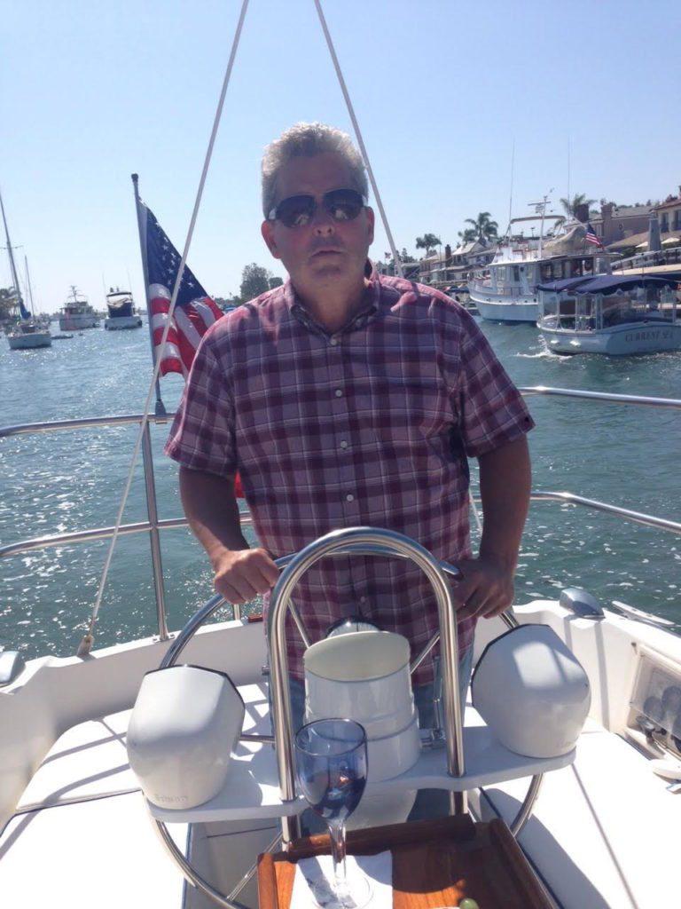 Ken Jenny sailing.