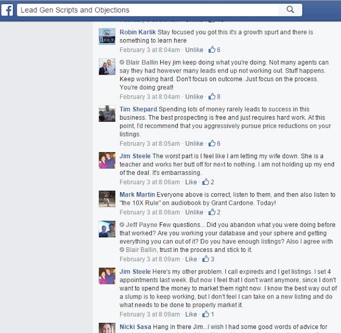 responses to slump post