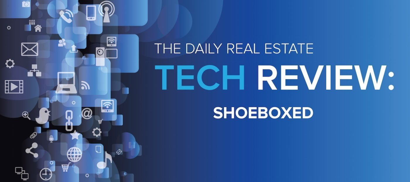 Shoeboxed offers slick options for agents to prevent the 'Costanza wallet'