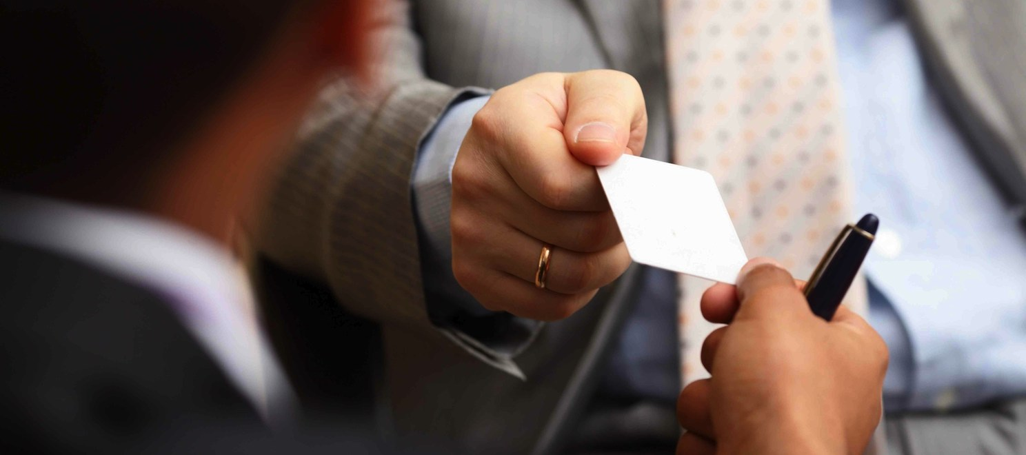 Business cards and email addresses are a window to your real estate business
