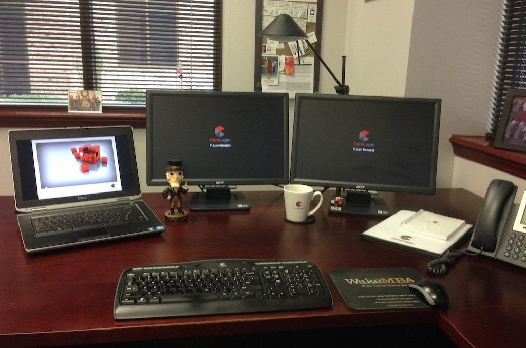 Ethan Bailey's desk.