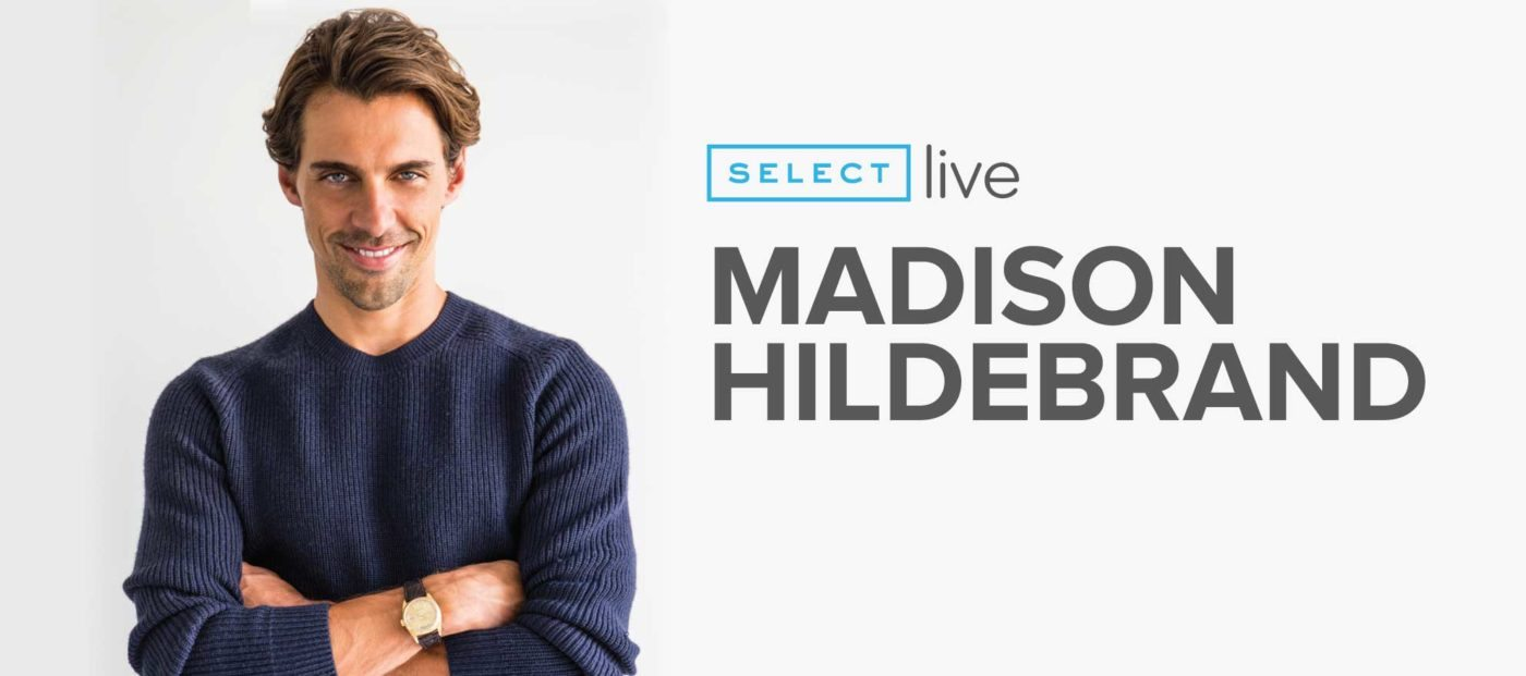Madison Hildebrand talks about reaching the top of his game by age 34