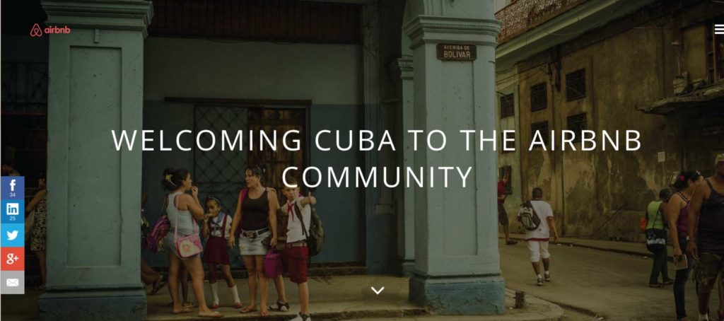 Airbnb announces groundbreaking expansion into Cuba