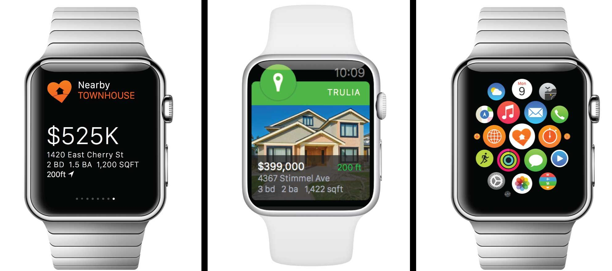 Slew of real estate tech firms are ready for Apple Watch launch
