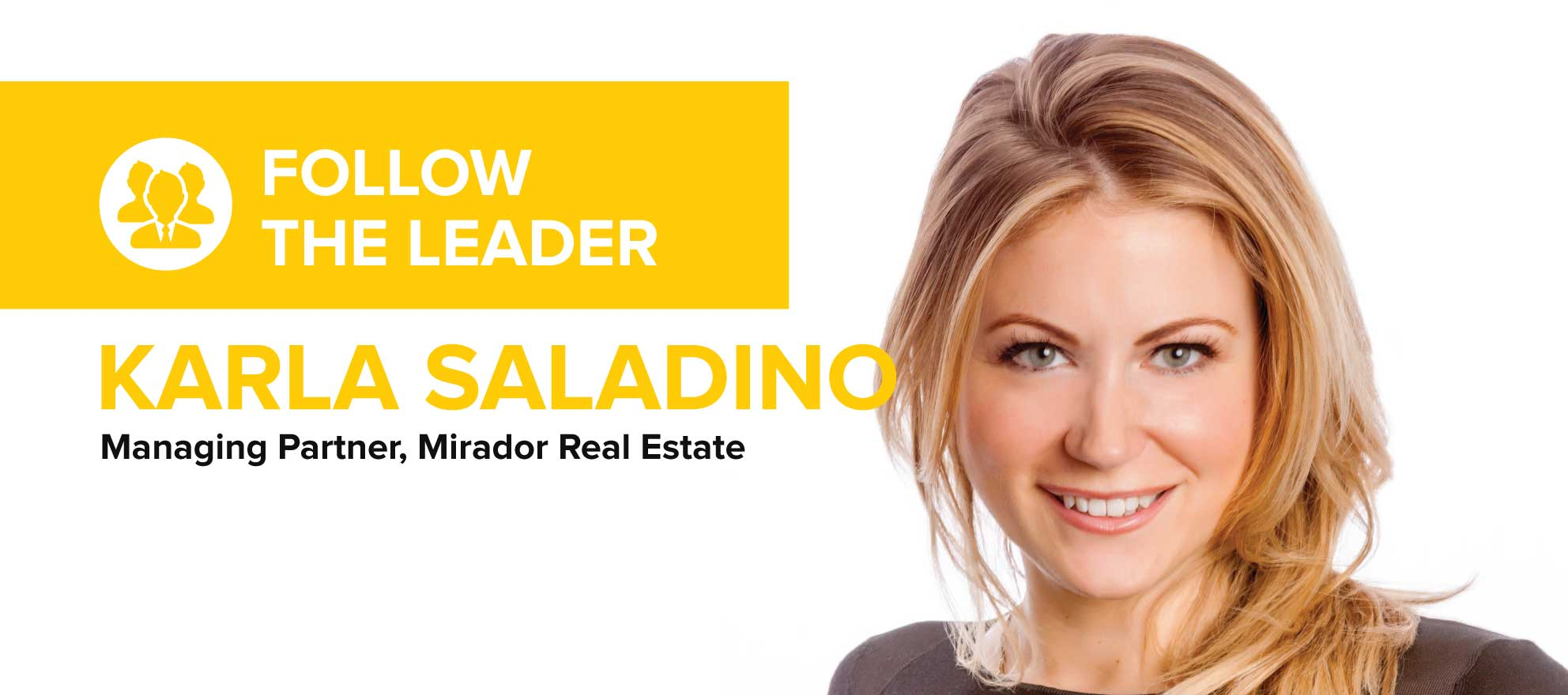 Karla Saladino on why real estate firms waste money paying for leads