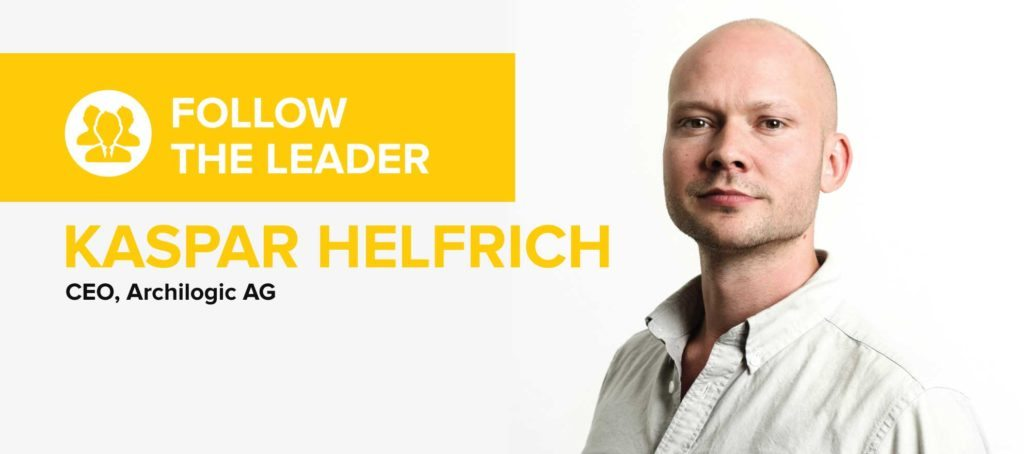 Kaspar Helfrich: First rule to building a business is to ask clients what they want