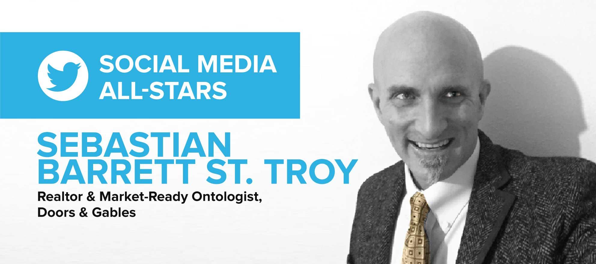 Sebastian Barrett St. Troy on how smaller companies lack direction on social media