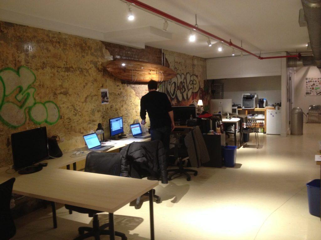 Scout Venture's workspace