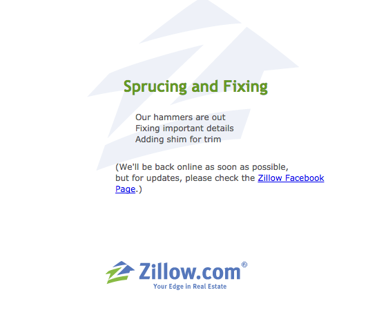 zillow-outage