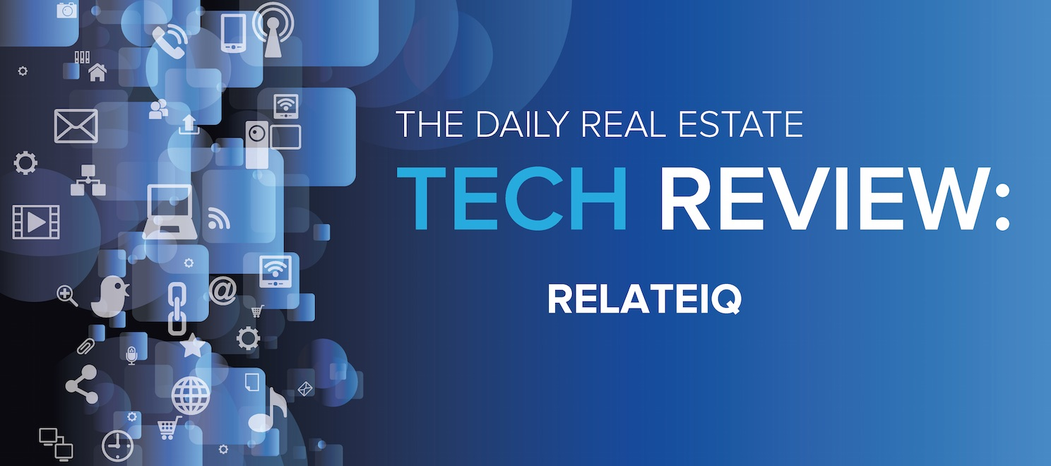 RelateIQ is a sleek, smart and relationship-driven CRM