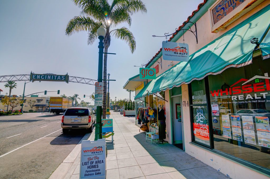 Whissel Realty's Encinitas Park office.