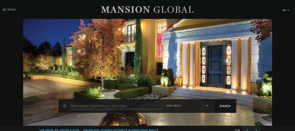 News Corp. launches luxury global real estate site, Mansion Global