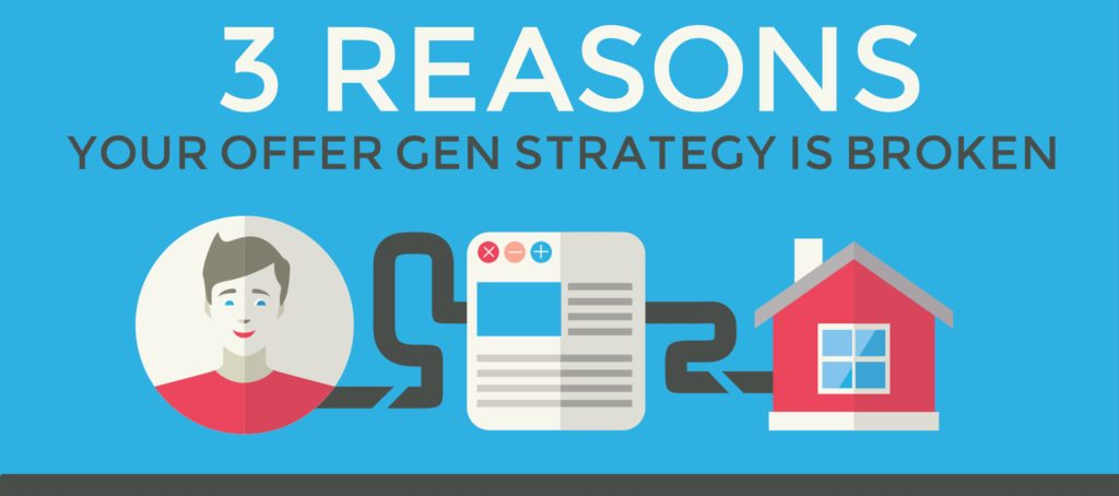 Infographic: 3 reasons your offer-gen strategy is broken
