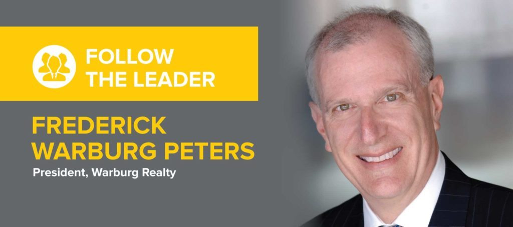 Frederick Warburg Peters on 'feeling like a facilitator to a talented performer moving to the top of the game'