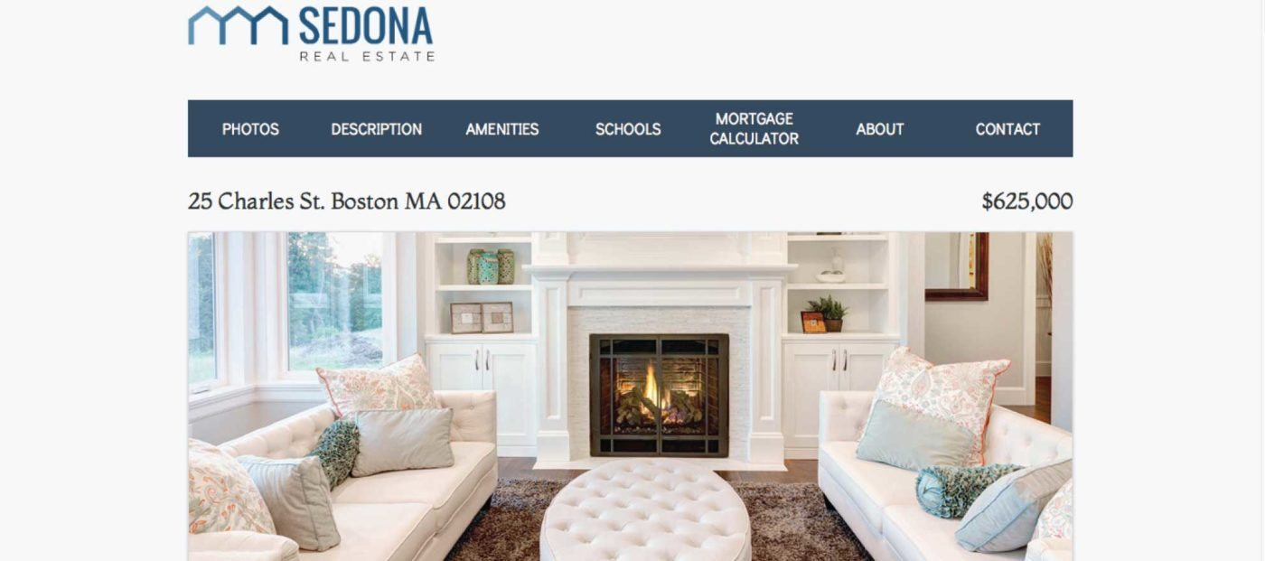 Real estate tech up-and-comer offering single-property websites
