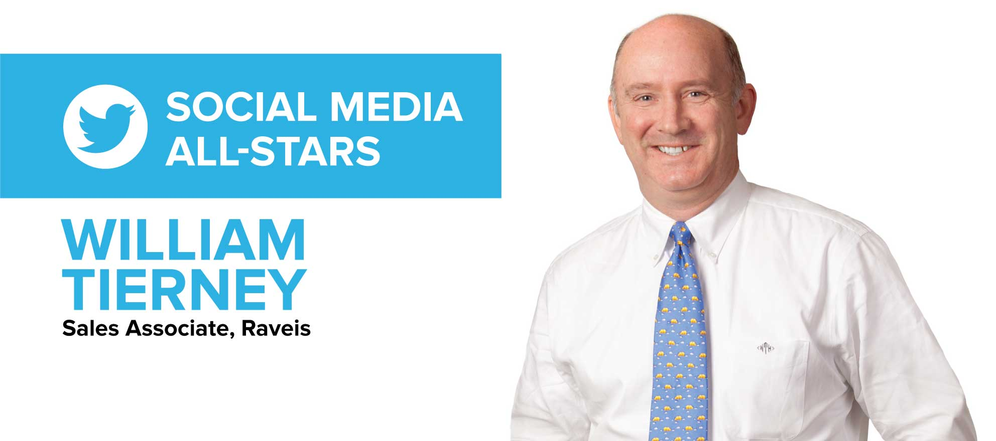 William Tierney: 'Social media is an awesome listing tool, and it does land me sellers'