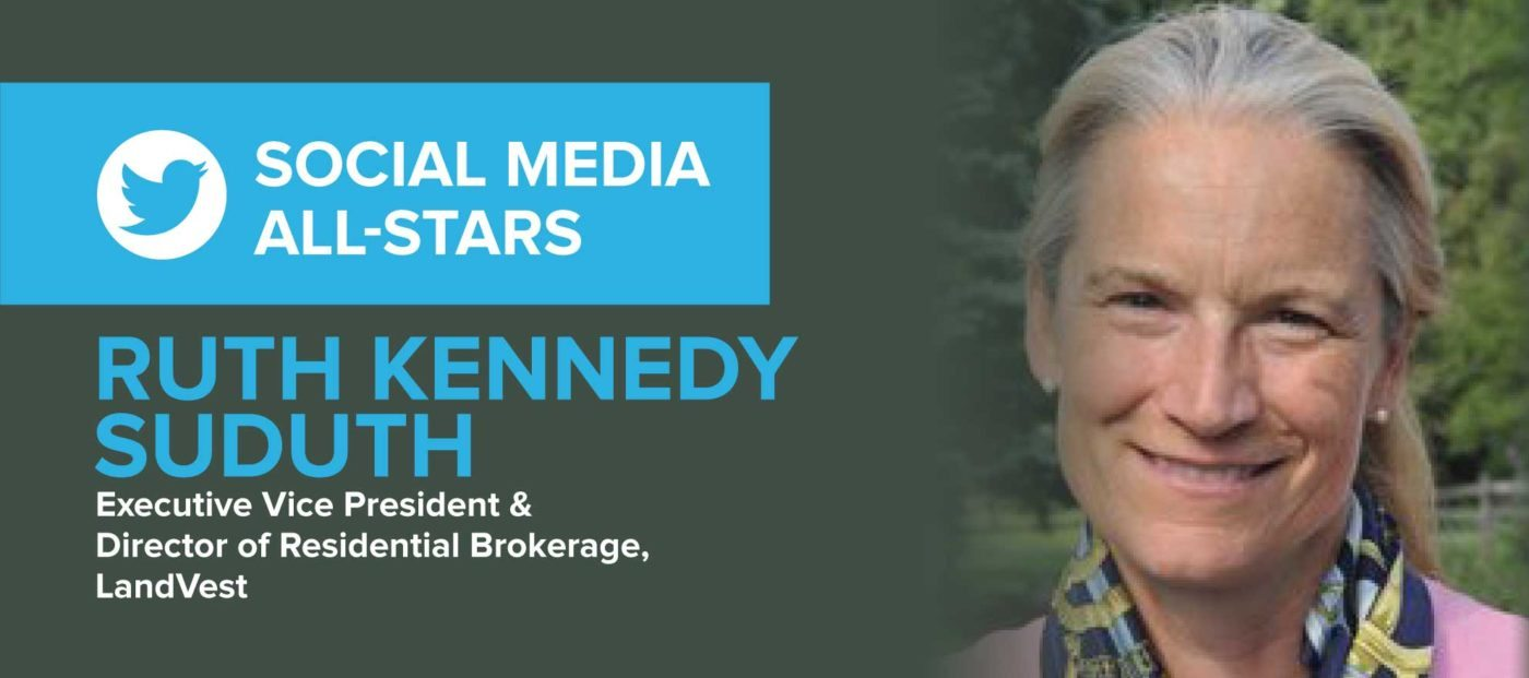 Ruth Kennedy Sudduth: 'Social media is integral to bringing New England properties to a global marketplace'
