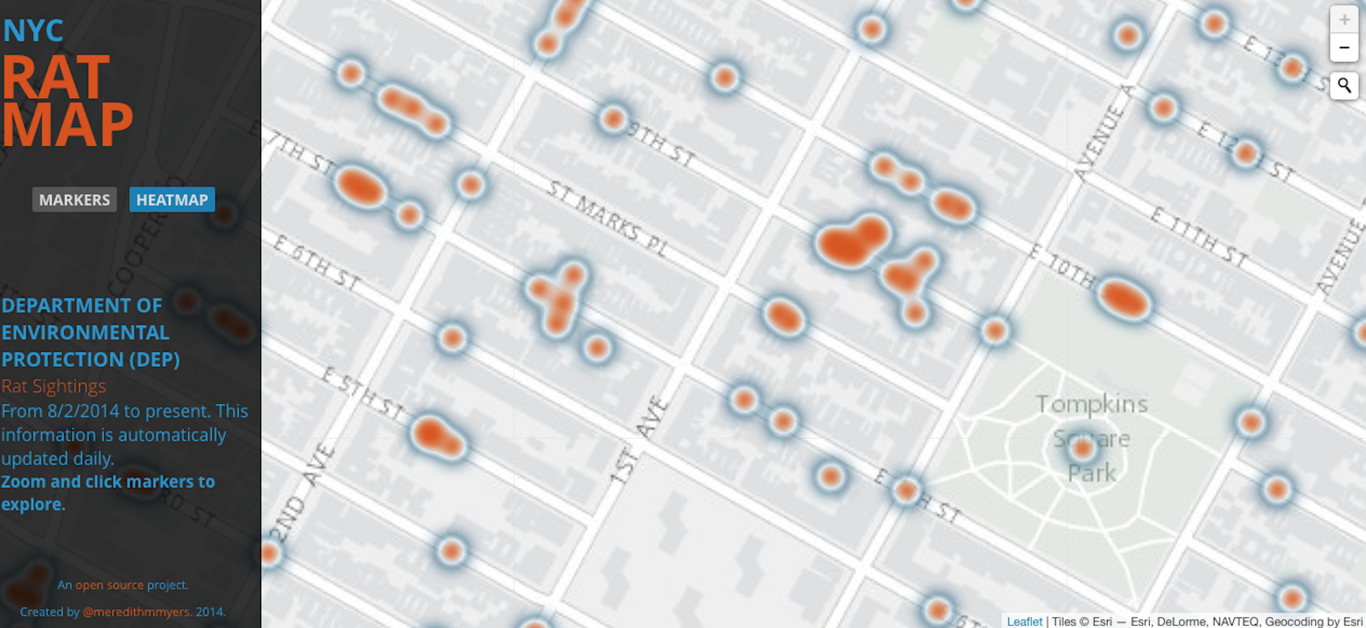 Cellphone coverage and rat maps: content for listing portals?