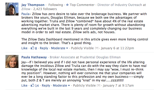 zillow has zero desire to be brokerage