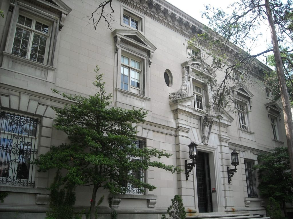 The former Italian Embassy, 2700 16th Street NW. Photo by AgnosticPreachersKid
