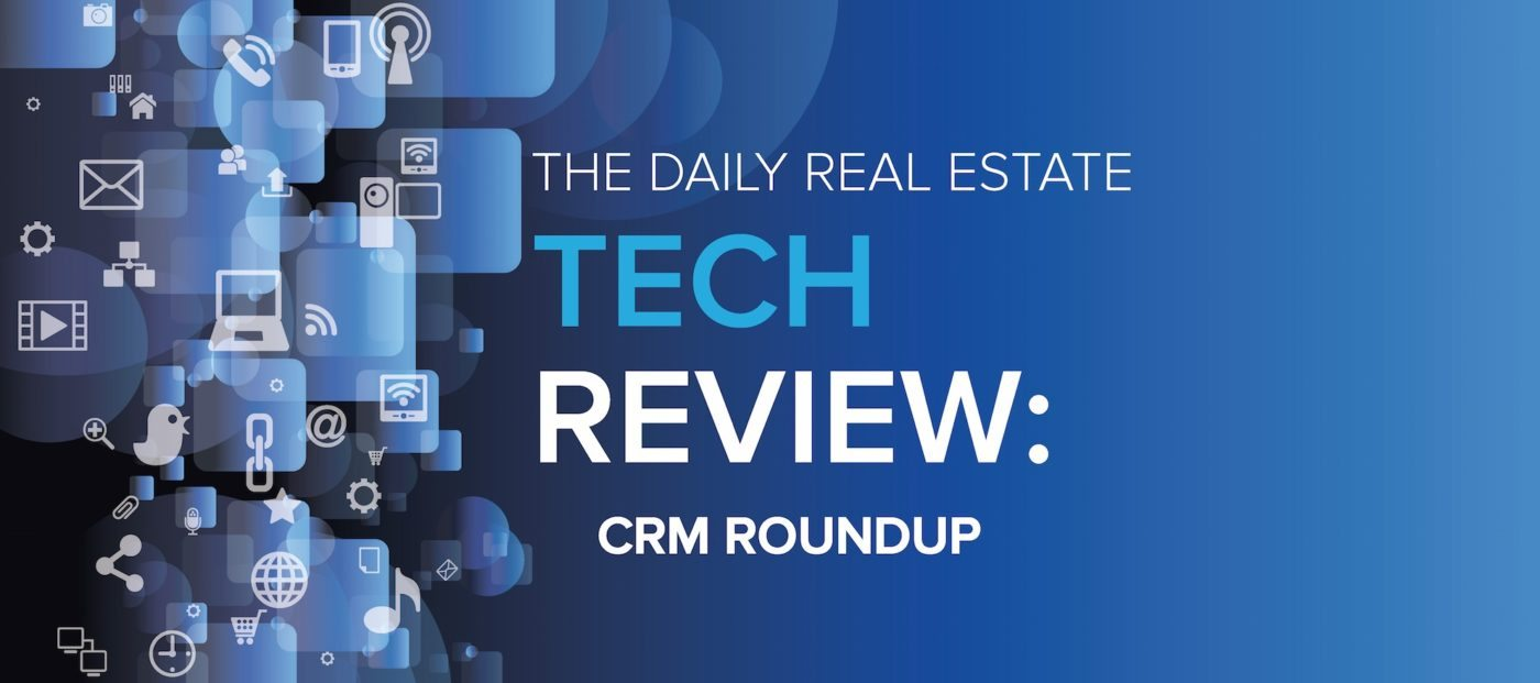 Tech review roundup: customer relationship management software