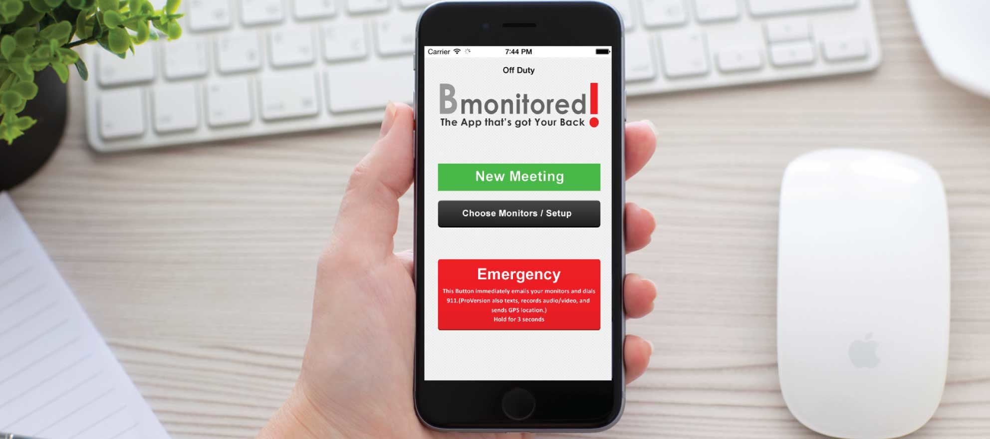 Mobile app offers client meeting safety for Realtors