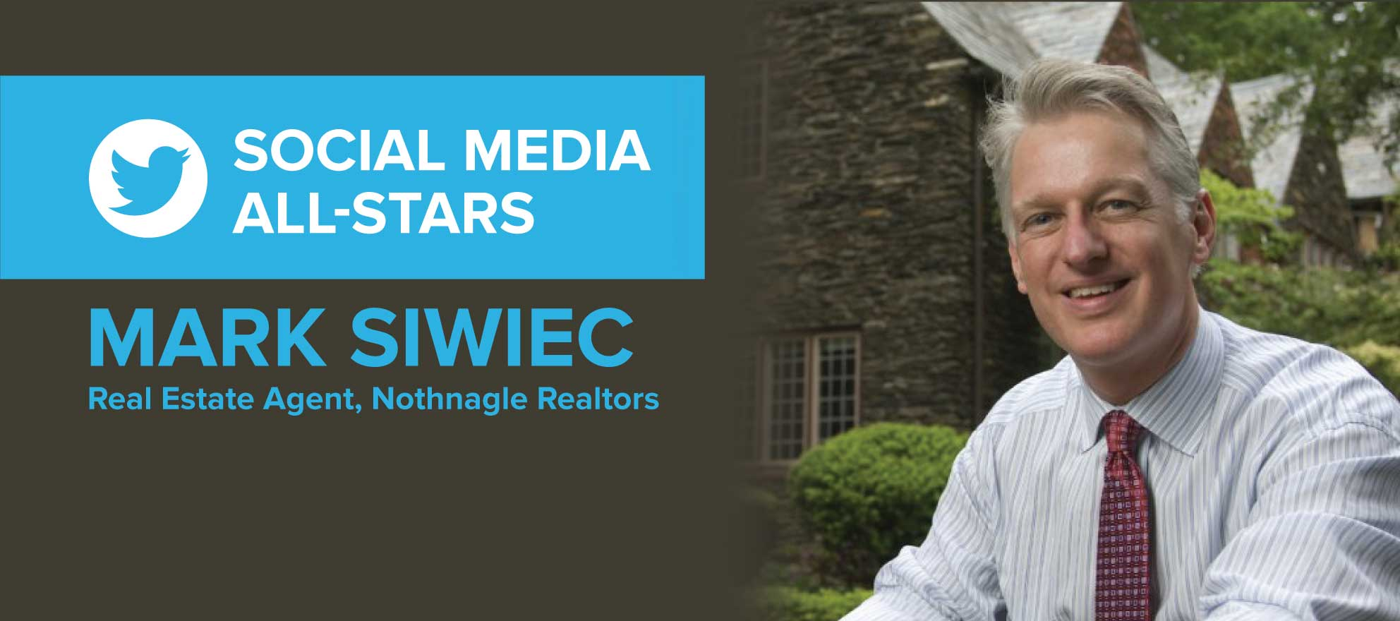 Mark Siwiec: 'When people think of me, I want them to see beyond real estate'