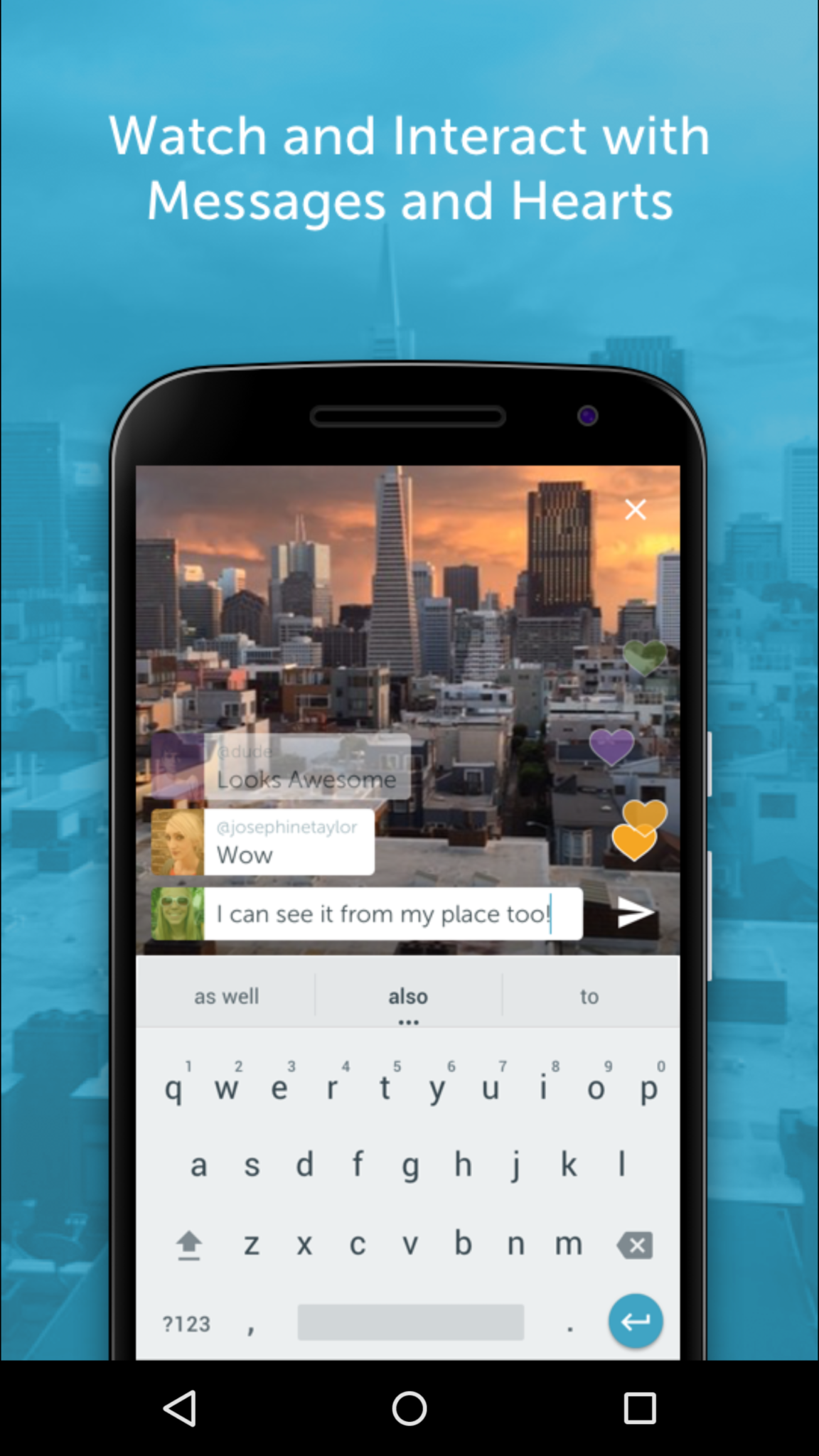 Periscope App Screenshot
