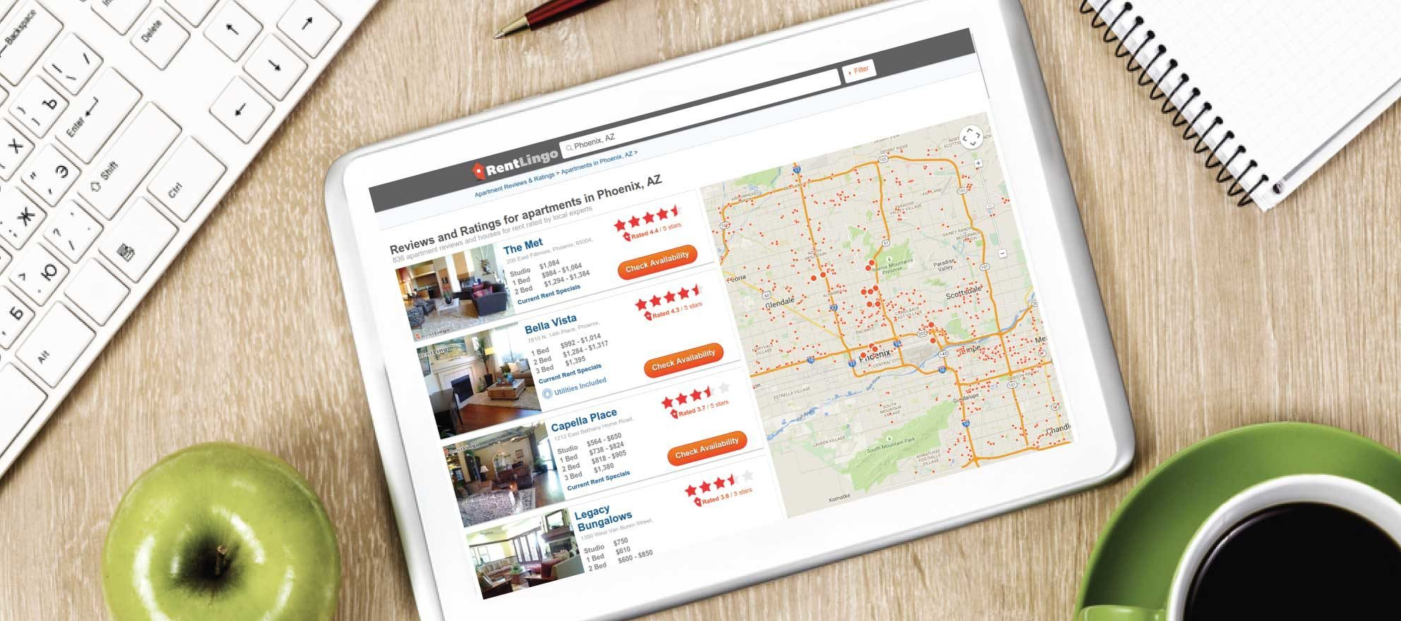 RentLingo partners with ForRent.com to provide apartment and neighborhood reviews