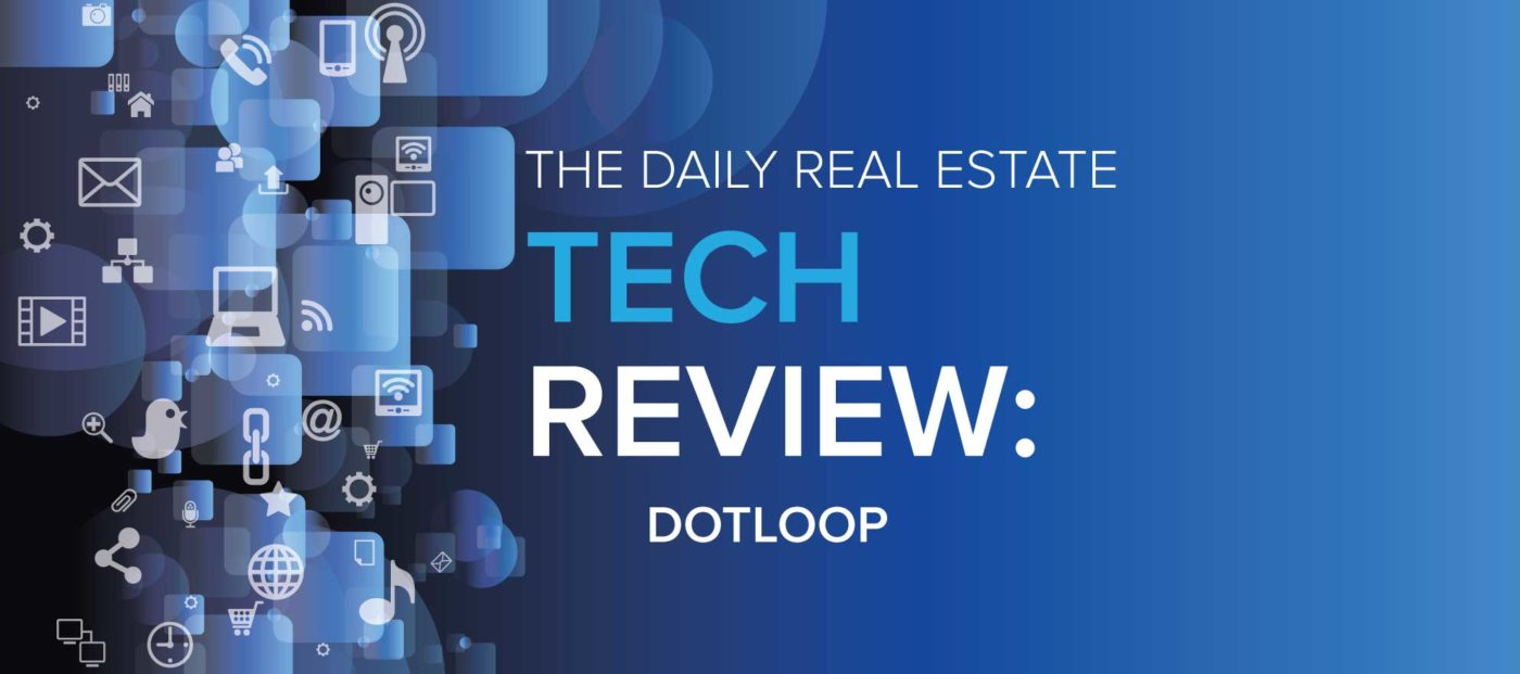 Dotloop's visuals and document management tools simplify transaction management