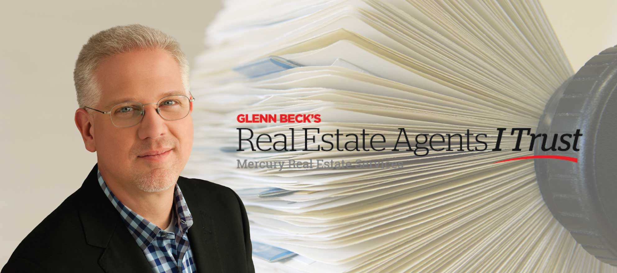 Real Estate Agents I Trust: Right-wing radio host Glenn Beck promoting his real estate referral network