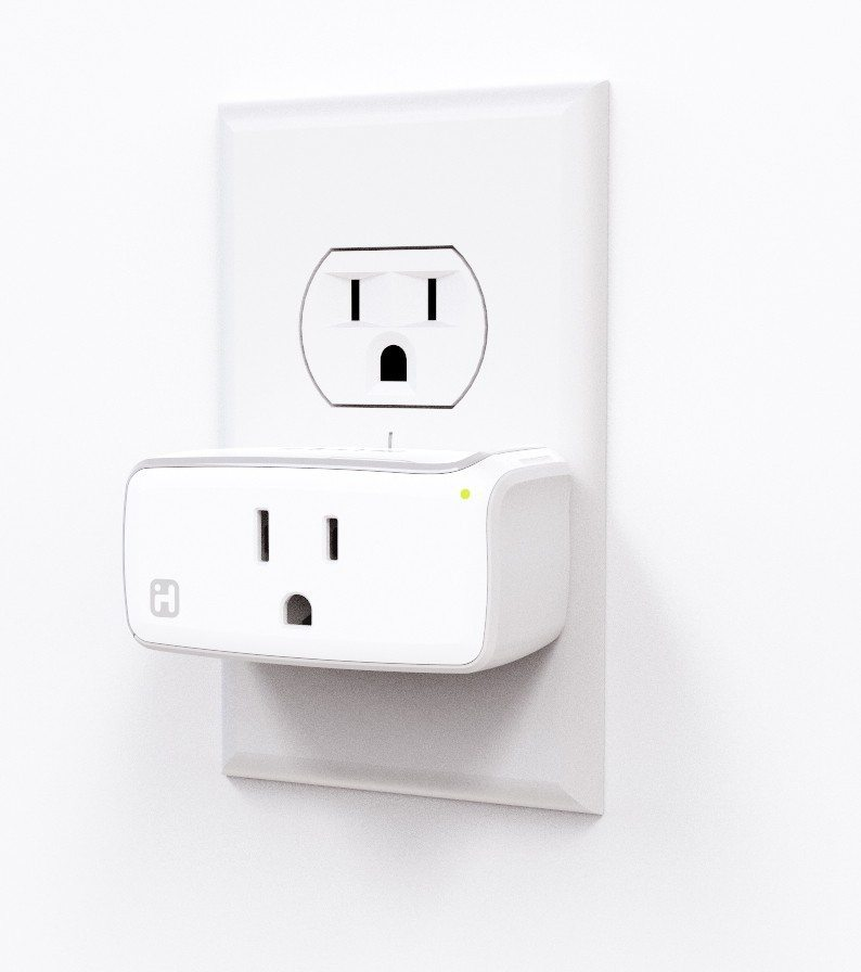 The iHome SmartPlug will be available for pre-order on June 15. Photo courtesy of BusinessWire.