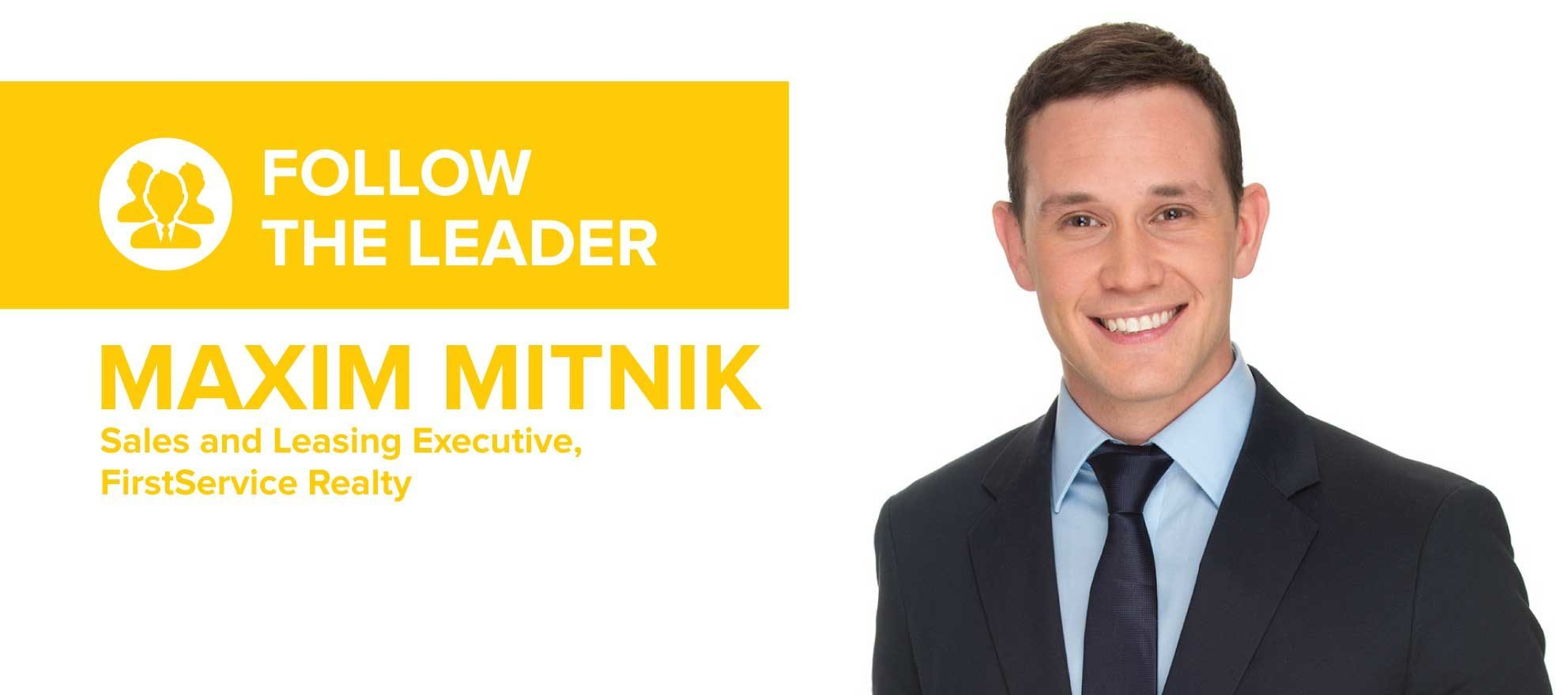 Maxim Mitnik on the little things that set his business apart